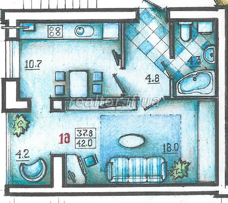 Verkauf und Vermietung von Wohnungen, Büros und Wohnungen in Iwano ...
