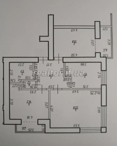 Apartment in a new building on the street Dovzhenko