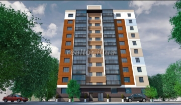 Apartment in a new building near the city lake in the district of King Danylo Street