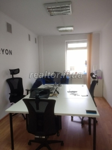 Office for rent in the city center on Hrushevsky