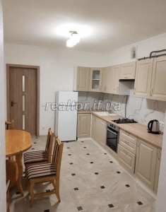 One bedroom apartment with renovation in a new building on the street Ivasyuk