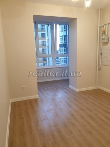One-room apartment for sale with renovation in a new building in the residential complex Patriot on Dovzhenko Street