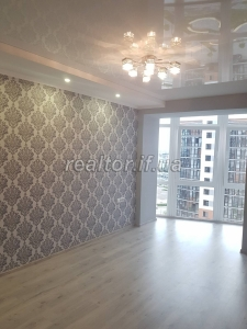 Spacious studio apartment with modern design renovation for sale in the town of Soborno