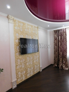 For sale two-bedroom apartment renovated on the street Halytska
