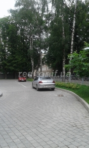 Spacious and lovely apartment with red roofs near the main city park