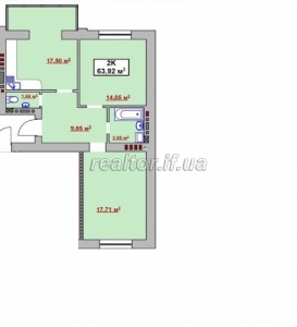 Urgent sale of apartments at a promotional price in the city center in the district of King Danylo Street