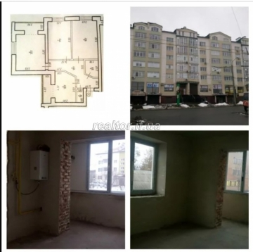 Apartment for sale in a residential building and documents