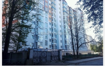 The apartment is located near the city park