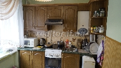 The apartment is renovated in a beautiful area on the street Ukrainian Division